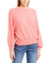 J.Crew Wool & Alpaca-blend Sweater - Pink
