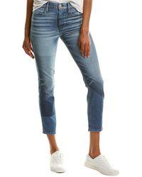 3x1 Shadow Blue Crop Jean