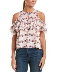 Endless Rose Cold-shoulder Top - Pink