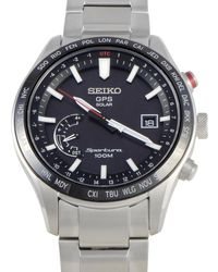Seiko Men's Stainless Steel Watch - Metallic