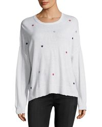 Sundry - Star Patches Sweater - Lyst