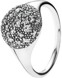 PANDORA - Comic Stars Silver Cz Ring - Lyst