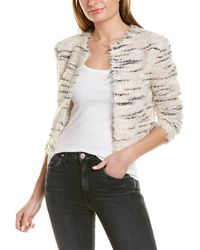 IRO Marino Wool-blend Jacket - White