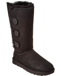 UGG - Bailey Button Triplet Ii Water-resistant Twinface Sheepskin Boot - Lyst