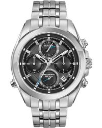 Bulova - 44.5mm Men's Chronograph Bracelet Watch - Lyst