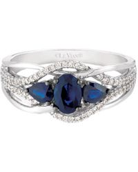 Le Vian 14k 1.07 Ct. Tw. Diamond & Sapphire Ring - Blue
