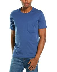 7 For All Mankind 7 For All Mankind Mitered T-shirt - Blue
