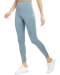 Nike Yoga Ruched 7/8 Tight - Blue
