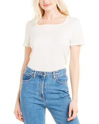 The Row Jackie Cashmere-blend Top - White