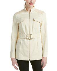 Magaschoni Belted Jacket - Natural