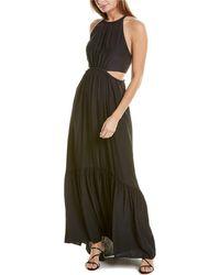 A.L.C. Libra Maxi Dress - Black