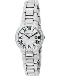 Raymond Weil - Women's Jasmine Diamond Watch - Lyst