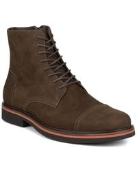 Donald J Pliner Mark Leather Boot - Brown