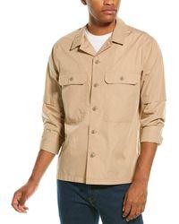 Vince Shirt Jacket - Brown