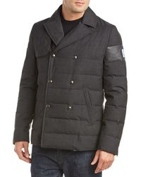 Moncler Wool Coat - Gray