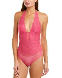 B.tempt'd B.tempt?d By Wacoal Ciao Bella Bodysuit - Pink