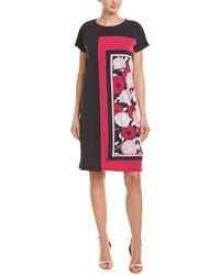 MARIGOLD SHIFT DRESS PINK-LG