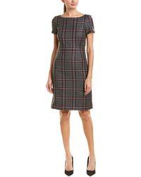 Brooks Brothers - Wool Sheath Dress - Lyst
