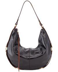 Hobo Rogue Leather Bag - Black