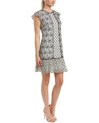 Adrianna Papell - Shift Dress - Lyst