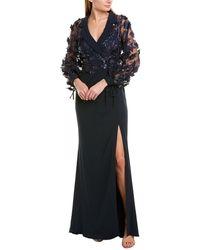 Badgley Mischka Gown - Blue