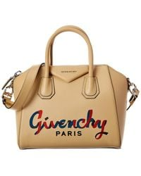 Givenchy Antigona Small Embroidered Leather Satchel - Multicolour
