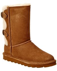 BEARPAW - Eloise Never Wet Water-resistant Suede Boot - Lyst