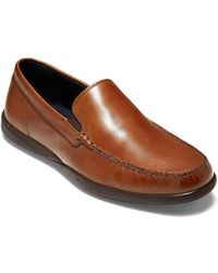 Cole Haan Cedrick Leather Loafer - Brown