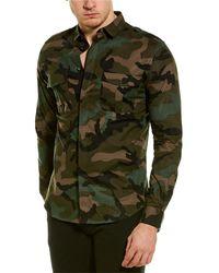 Valentino Woven Shirt - Green