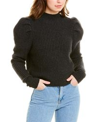Autumn Cashmere Cashmere & Wool-blend Jumper - Grey