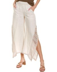 XCVI Senja Linen Pant - White