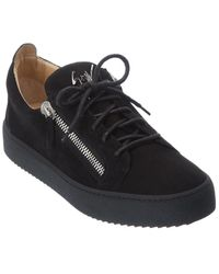 Giuseppe Zanotti Suede Sneaker - Black