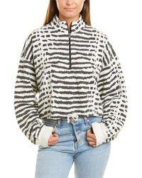 LNA Volley Sweatshirt - White