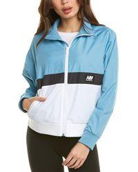 New Balance Long Sleeve Jacket - Blue