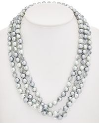 Carolee - Cosmic Reflections Collar Necklace - Lyst