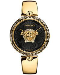 Versace Women's Palazzo Empire Semi Bangle Bracelet Watch, 39mm - Metallic