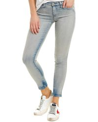 AG Jeans The Legging 18 Years Tainted Clouds Super Skinny Leg - Blue