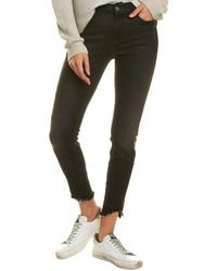 7 For All Mankind 7 For All Mankind Gwenevere Mamba Ankle Cut Jean - Black