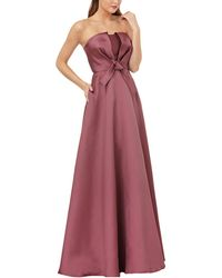 Kay Unger Gown - Purple