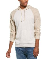 Vince Double Knit Hoodie - Brown