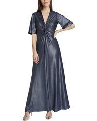 Tahari Tahari Asl Dress - Blue