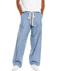 Stella McCartney Striped Trouser - Blue
