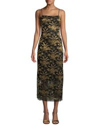 Adam Lippes - Camisole Floral Dress - Lyst