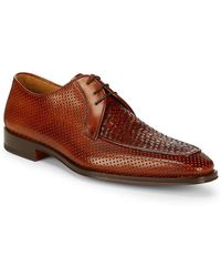 Saks Fifth Avenue - By Magnanni Julio Woven Toe Dress Shoe - Lyst