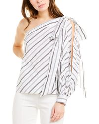 MILLY Off-the-shoulder Top - White
