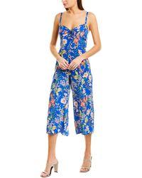 Yumi Kim Pretty Chic Silk Jumpsuit - Blue