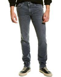 Hudson Jeans Byron Darwin Slim Straight Leg Jean - Grey