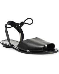 Maiyet Desert Leather Sandal - Black