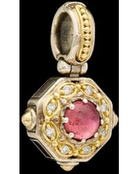 Konstantino - Hermione 18k & Silver 0.80 Ct. Tw. Diamond Mother-of-pearl Enhancer - Lyst