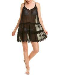 Ramy Brook Maia Slip Dress - Black